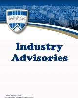 Industry Advisories